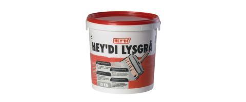 SLEMMING LYSGRÅ 10KG HEYDI
